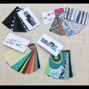 Thirty-One Fabric Samples-Canvas Crew,